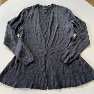 Nanette Lepore Cardigan Sweater Gray Medium